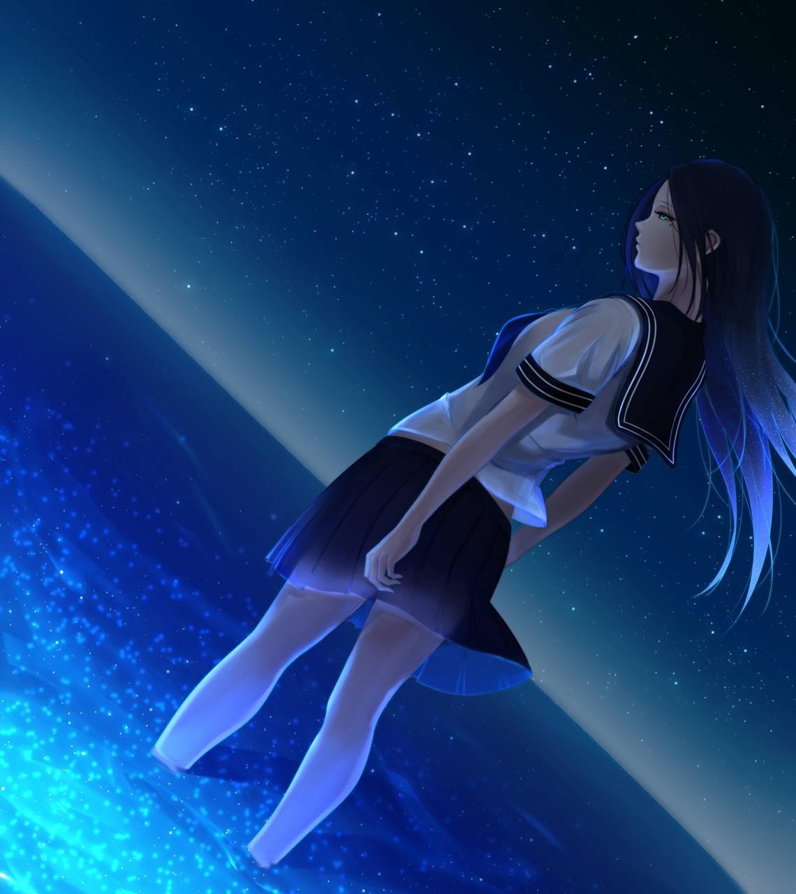 Alone Sad Girl Hd Desktop Wallpaper: 25+ Lonely Sad Anime Girl Wallpaper