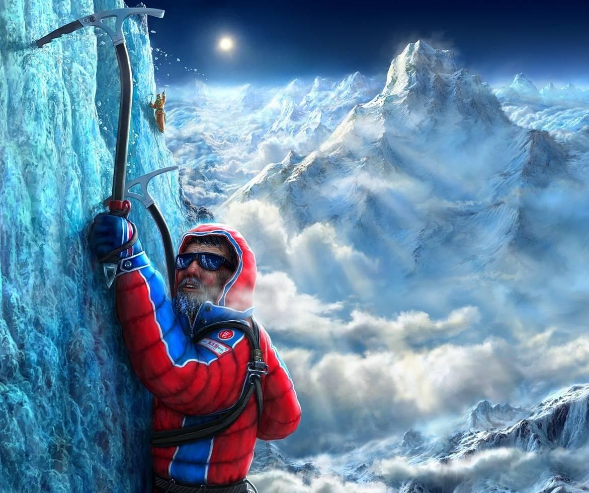 Картинки с днем рождения альпиниста, обезьянки