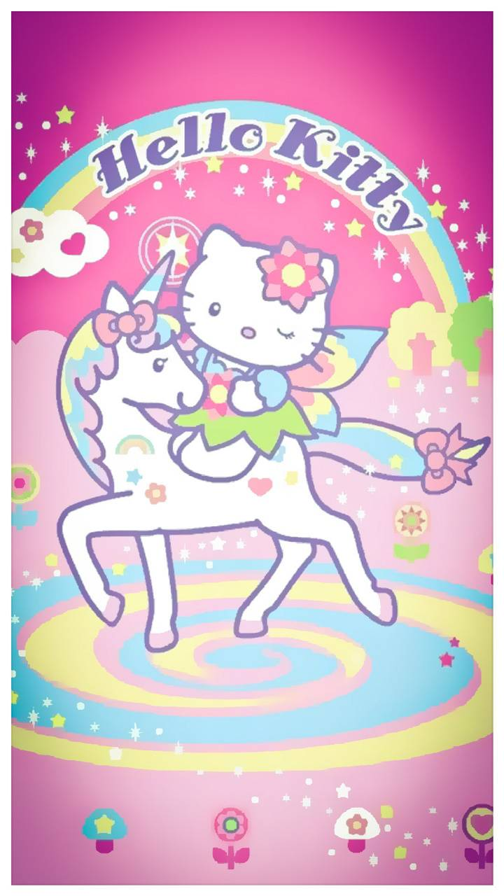 Hello Kitty Unicorn Wallpaper By Z7V12 6b Free On ZEDGE™
