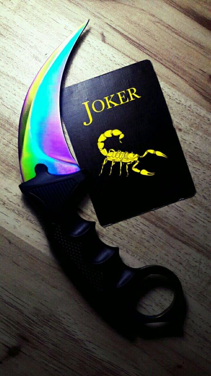 jokers karambit