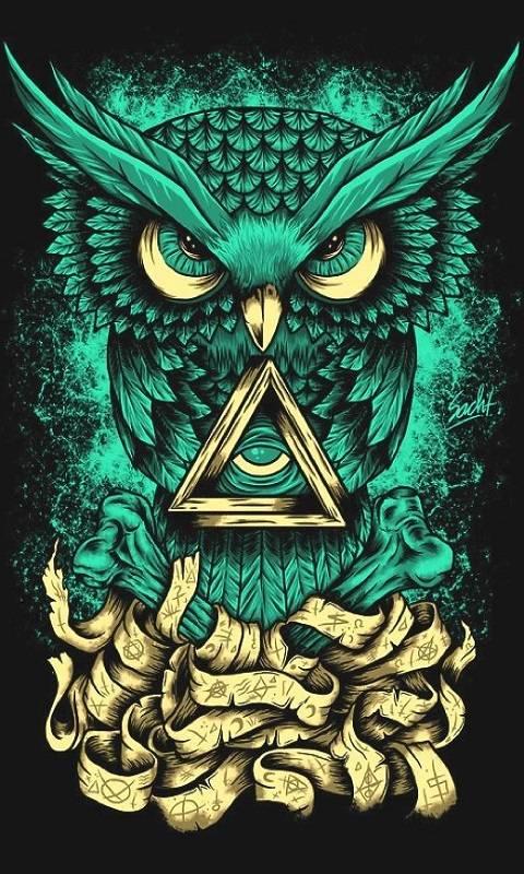 Dark Owl Wallpaper By Gemini90mex D5 Free On Zedge