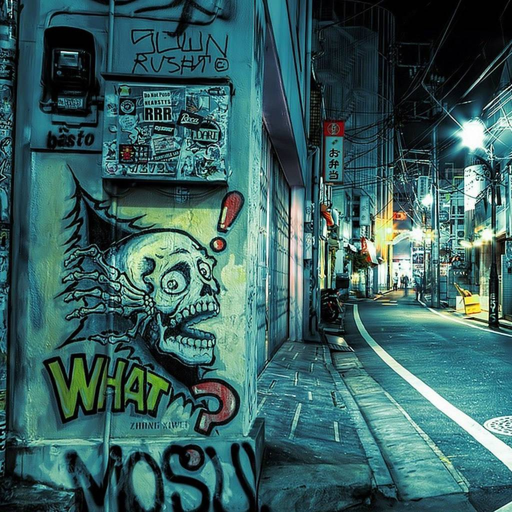 Street Graffiti Wallpaper By Almost_Famous_