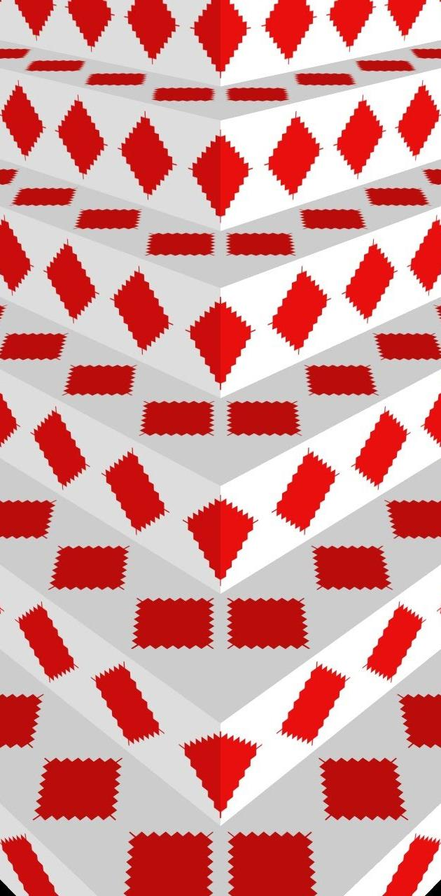 White-Red Steps 10
