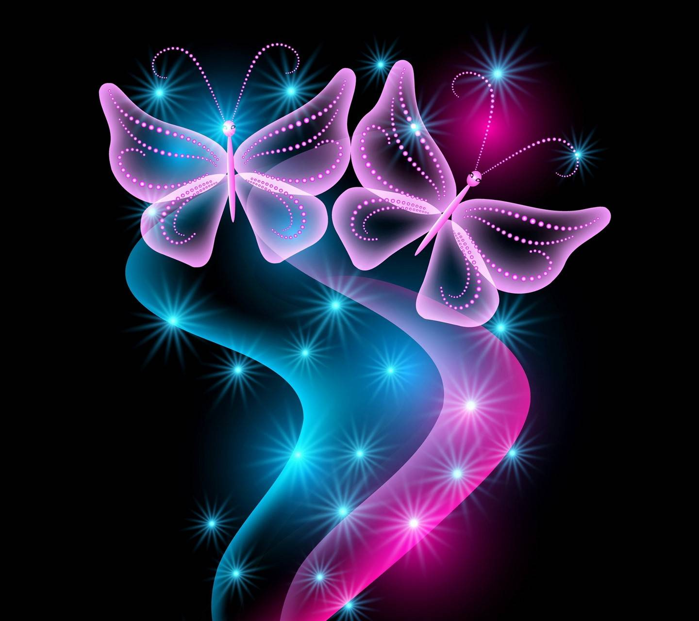 Neonlight Butterflie
