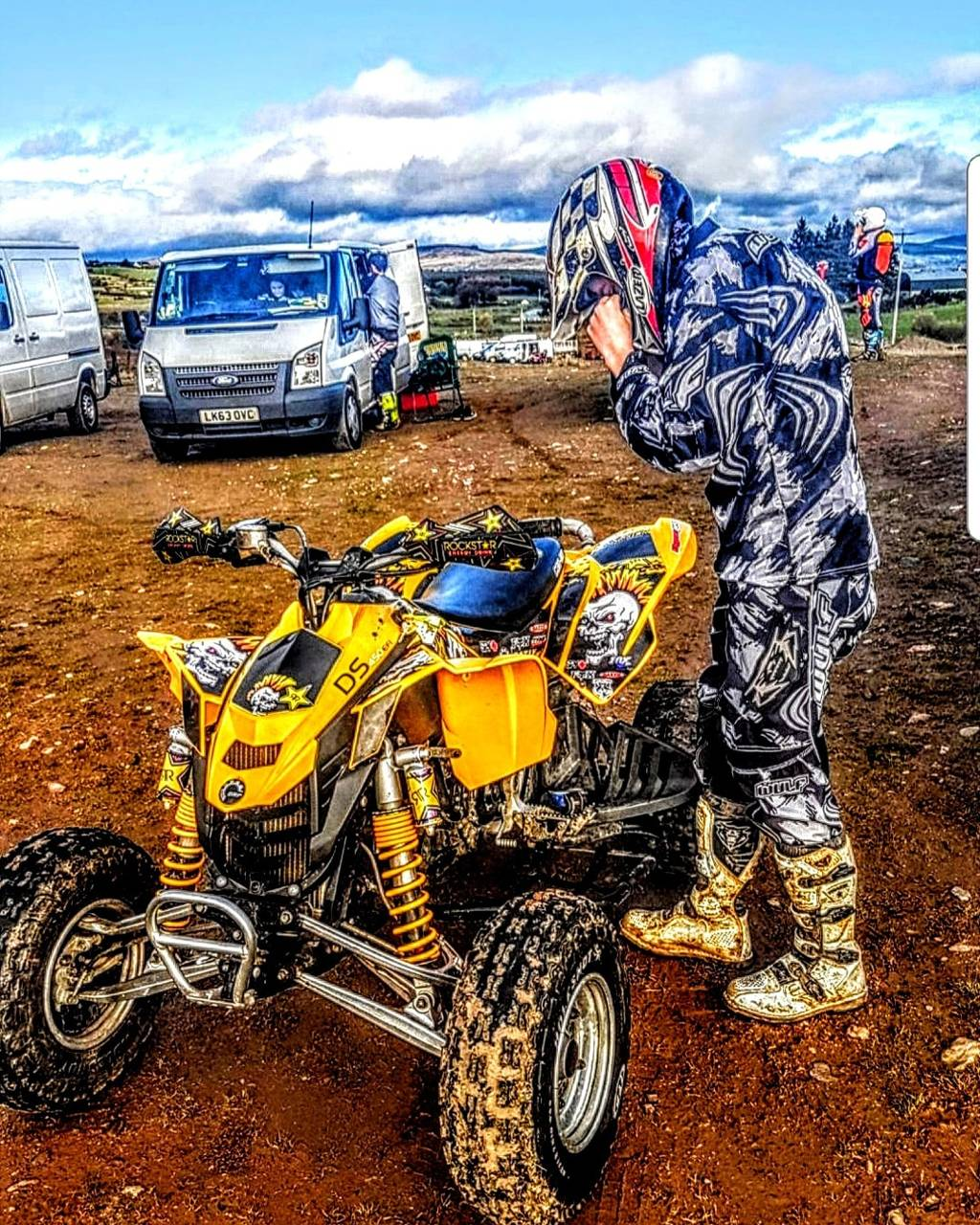 Quad  can-am ds 450