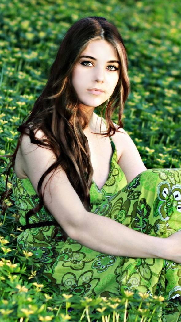 Girl In Green