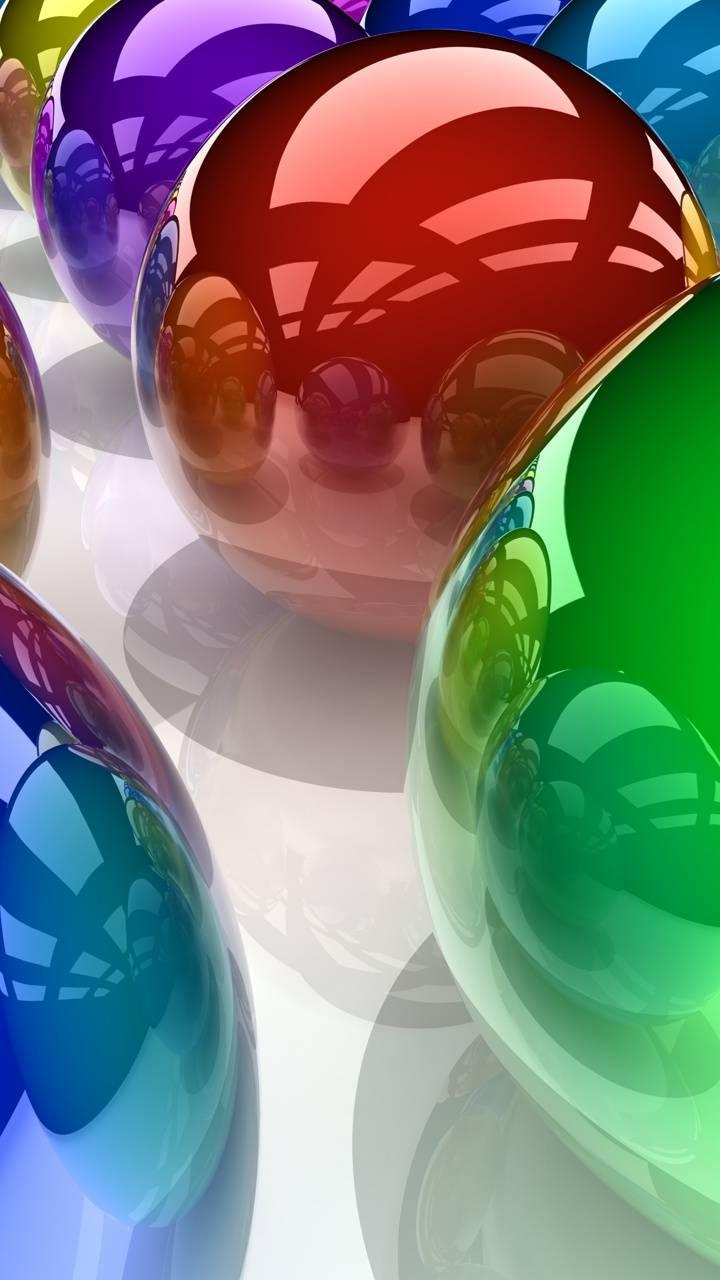 4k crome bubbles