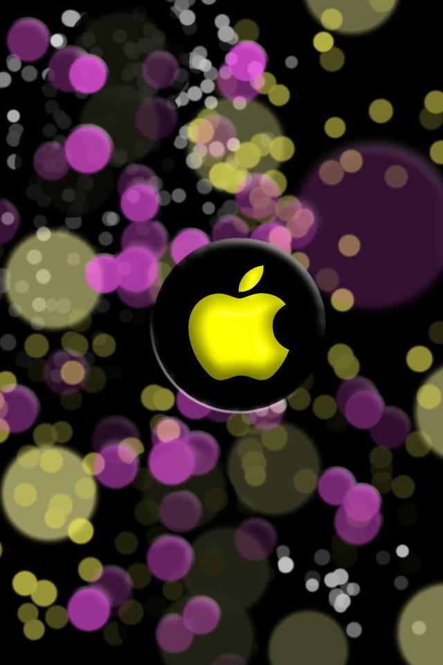 Apple Bokhe