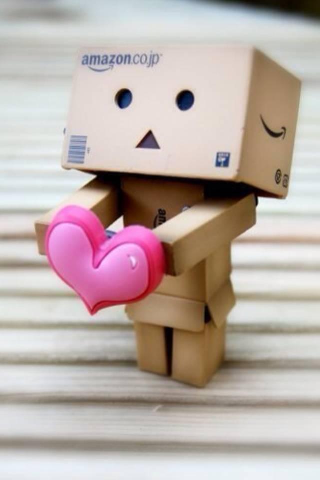 Danbo Wid Heart