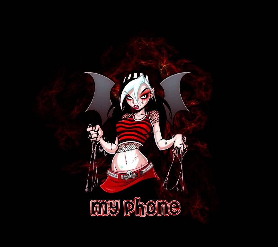My Phone Red Girl