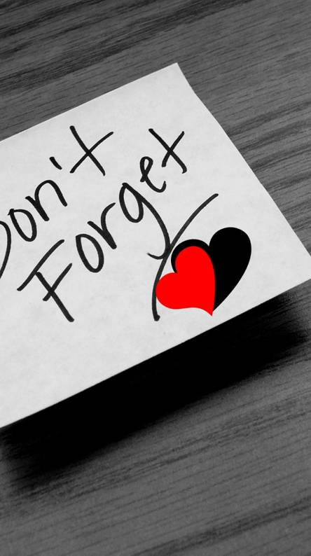 Dont Forget