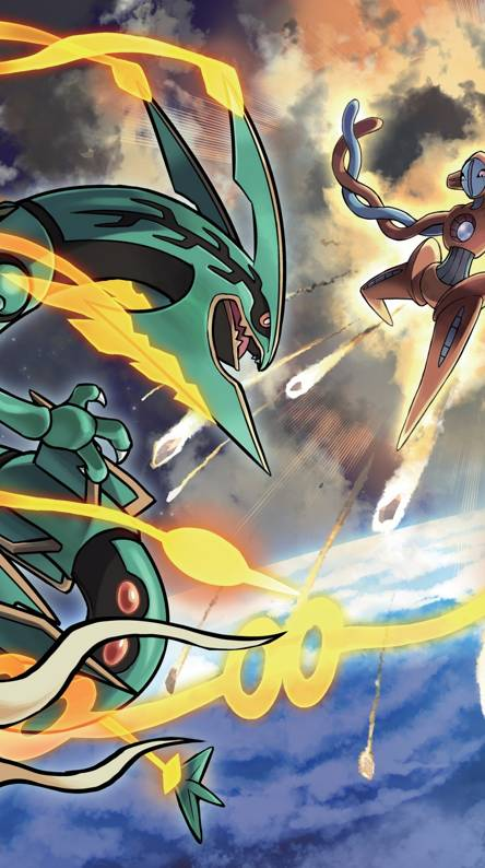 mega rayquaza wallpapers free by zedge