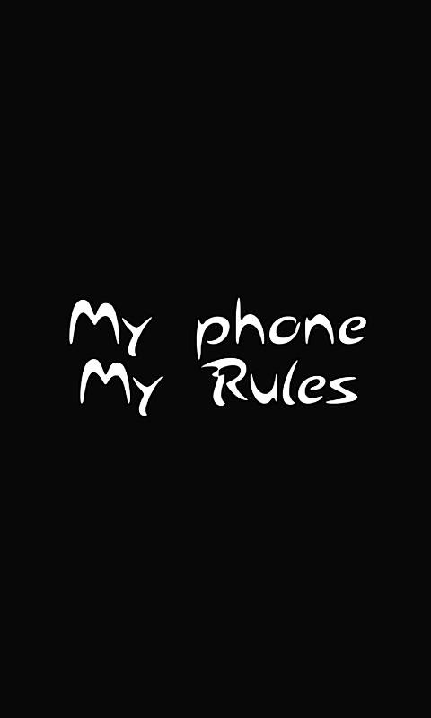 My Rules Wallpaper By Mastodon Rage 3b Free On Zedge