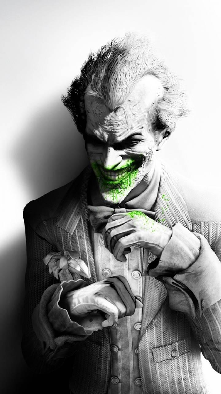 laughing joker