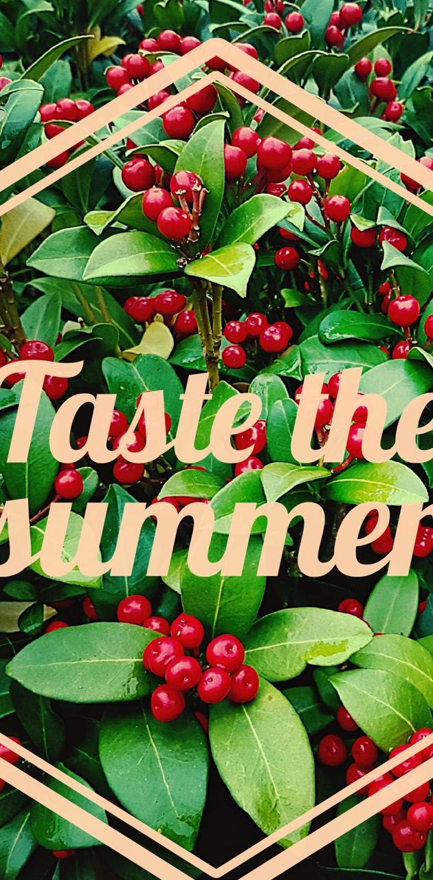 Tasty summer