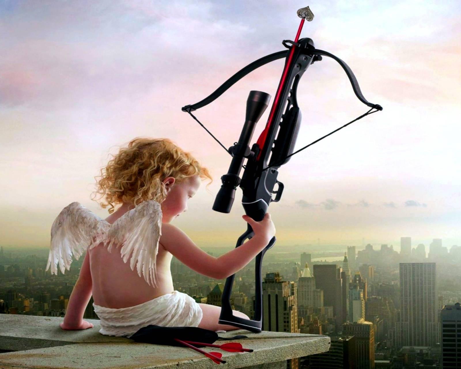 Красивая открытка, прикольные картинки ангела