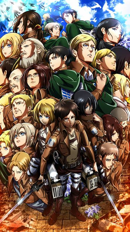 Shingeki No Kyojin Wallpapers Free By Zedge