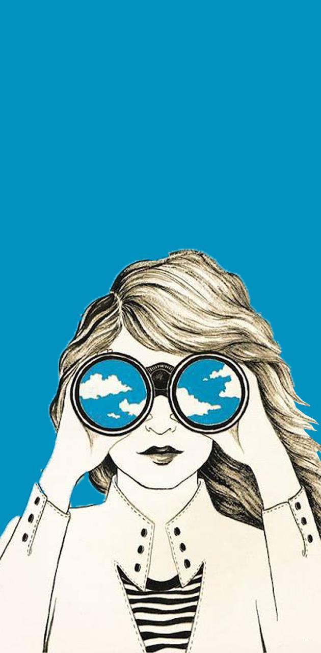Binocular Girl