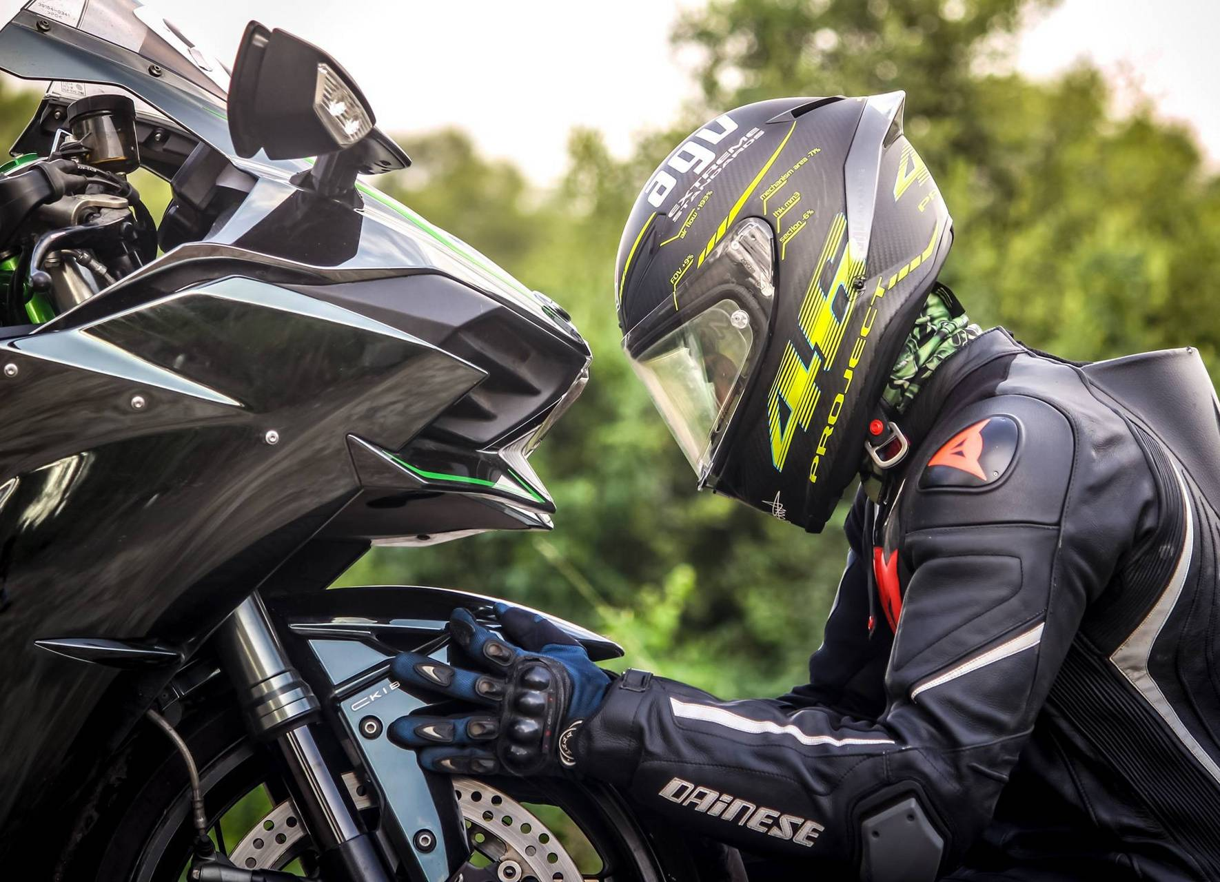 Bike with Rider