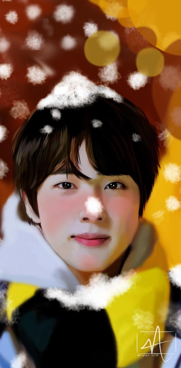 Jin Wallpaper Snow