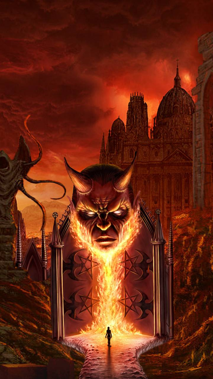 Gates Of Hell Wallpaper By Markuscollins1974 Fe Free On